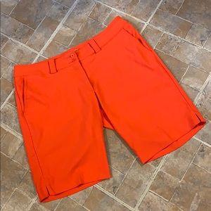 Nike Dri Fit golf shorts size women's 14